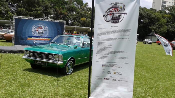Opala Las Vegas Exposto no Salão do Automóvel de 1972 - Protótipo