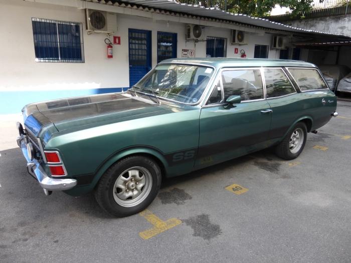 Associado Clube do Opala SP - Caravan SS 1979 Verde Olinda 4 Cilindros