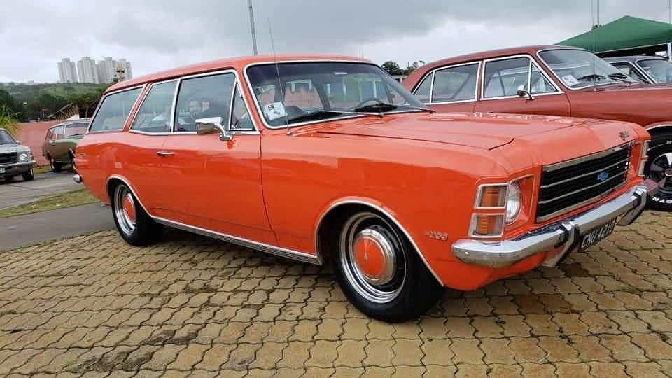 Associado Clube do Opala SP - Caravan 1975 Vermelho Marte 6 Cilindros 4100