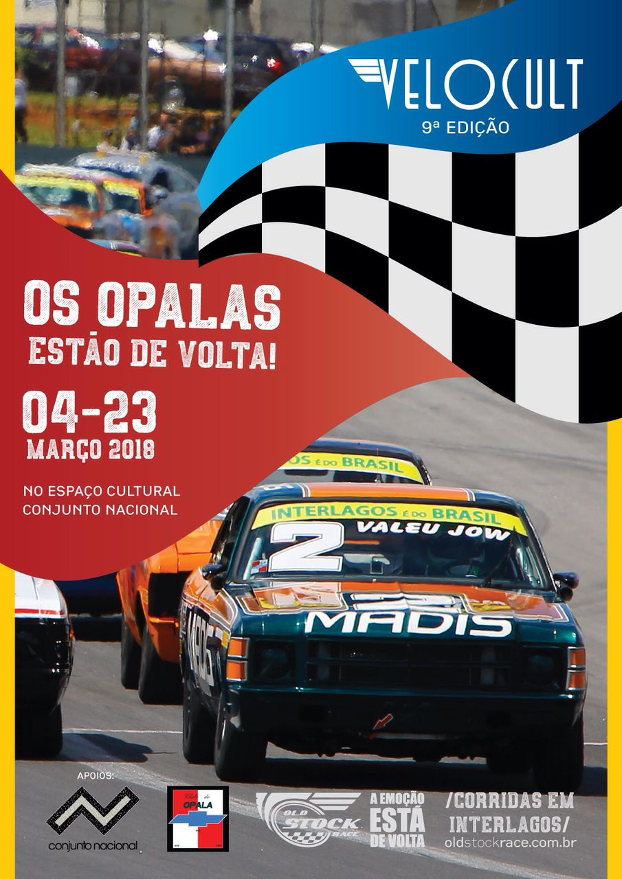 VELOCULT SP - 2018 - Os Opalas estão de Volta com o Apoio do Clube do Opala de São Paulo