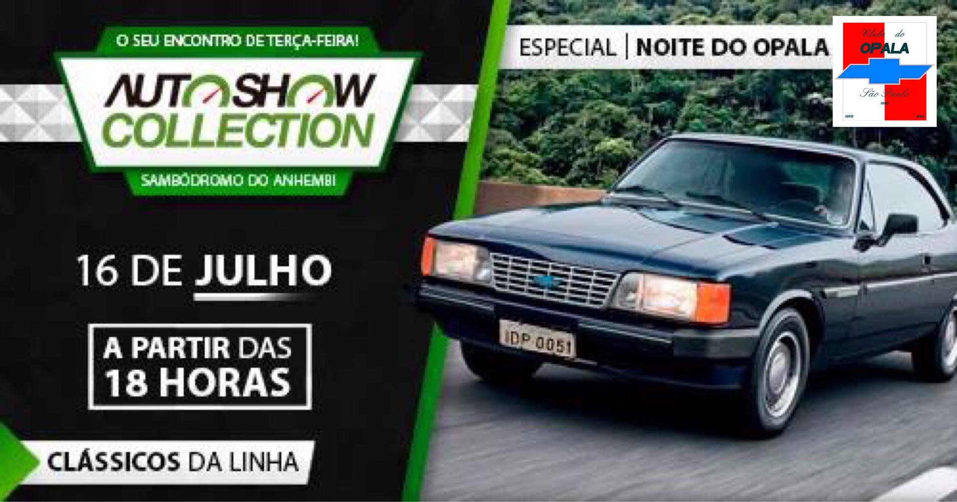 Noite do Opala 2019 - 16 de Julho - Sambódromo do Anhembi