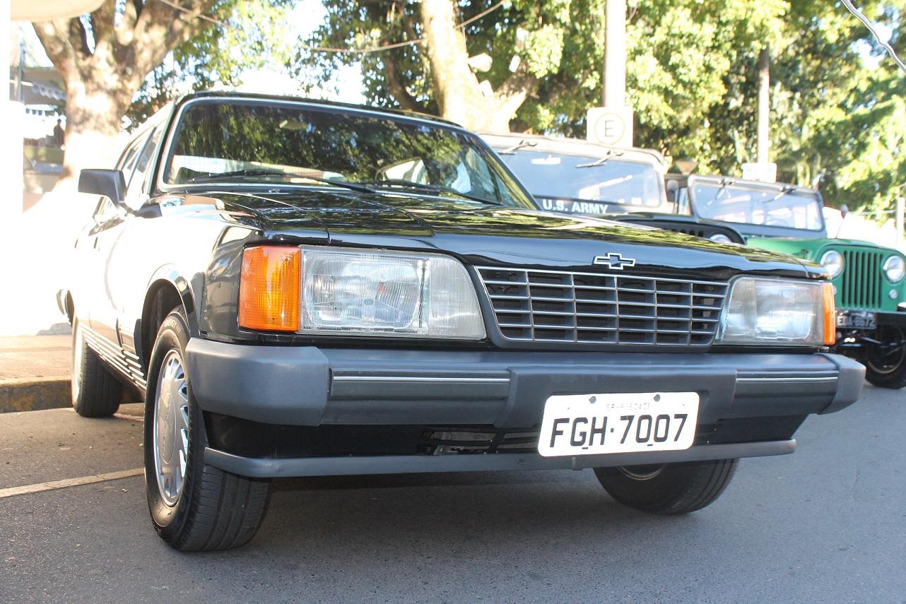 Opala Diplomata 1989 4.1/S Automátic4 Preto Roubado em São Paulo Capital - Vila Mariana