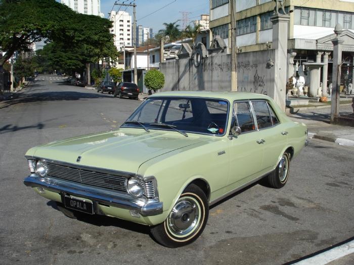 Associado Clube do Opala SP - Opala 3800 1969 Verde 6 Cilindros