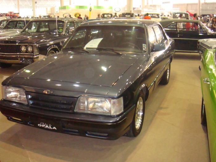 Associado Clube do Opala SP - Opala Diplomata Collector 1992 Azul Milos 6 Cilindros
