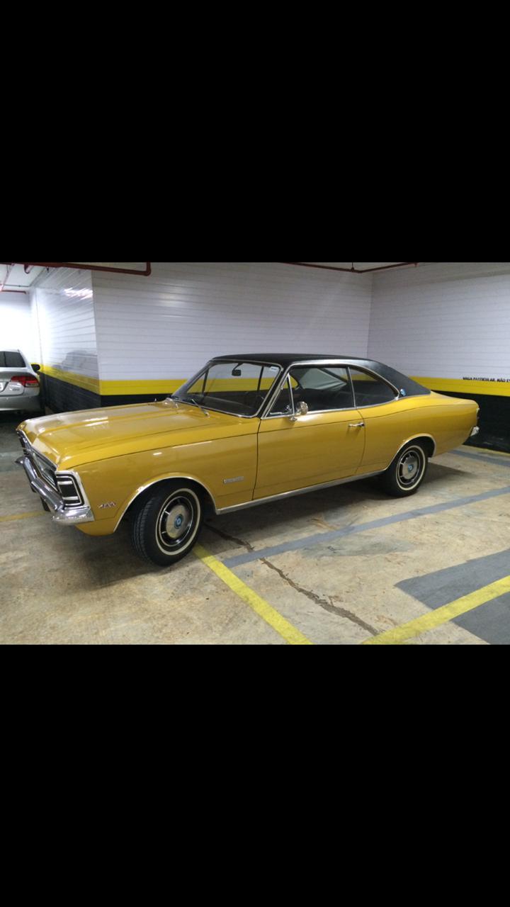 Associado Clube do Opala SP - Opala Grand Luxo 1972 Dourado Mecânico 6 Cilindros 4100