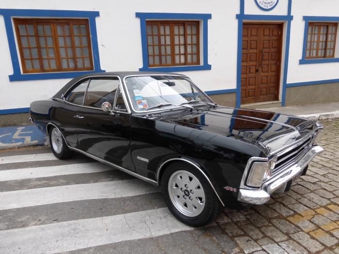 Associado Clube do Opala SP - Opala Gran Luxo 1974 Preto 6 Cilindros