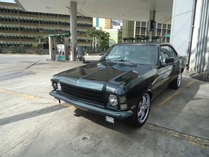 Associado Clube do Opala SP - Opala Especial 1975 Verde 6 Cilindros Turbo