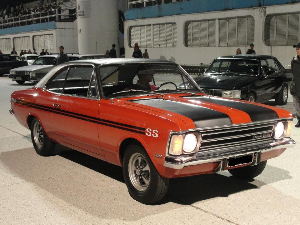 Associado Clube do Opala SP - Opala SS 1974 Vermelho 6 Cilindros