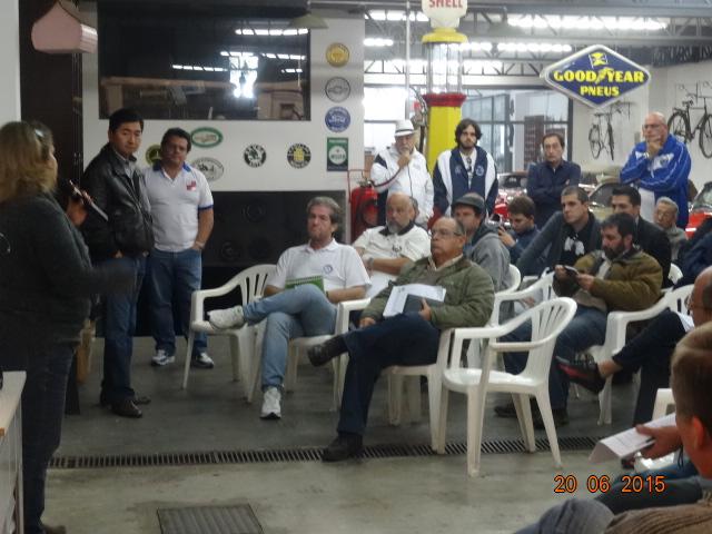 II Workshop Regional de Capacitação de Avaliadores para Emissão de Certificado de Originalidade de Veículo de Coleção